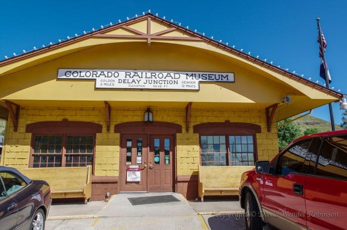 Entrance Colorado railroad musuem