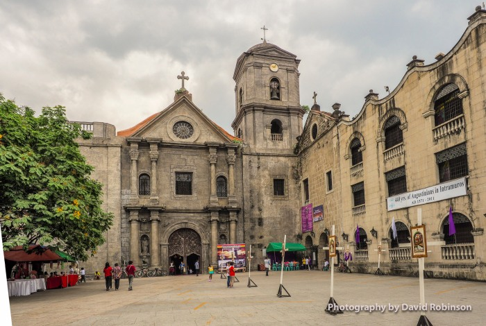 St. Augustine Church, Intramuros Walled City. One of the few buildings to not be destroyed or seriously damaged in WWII.