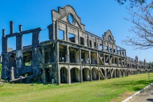 Mile Long Barracks, Corregidor Island, WWII Monument