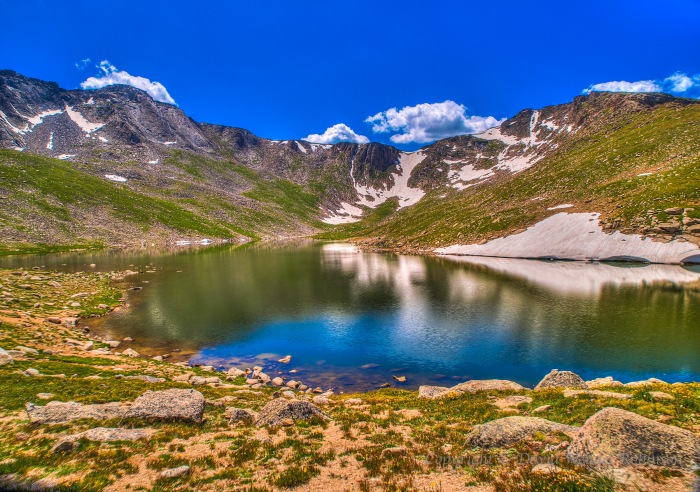 Summit Lake, Mount Evans, Colorado, United States