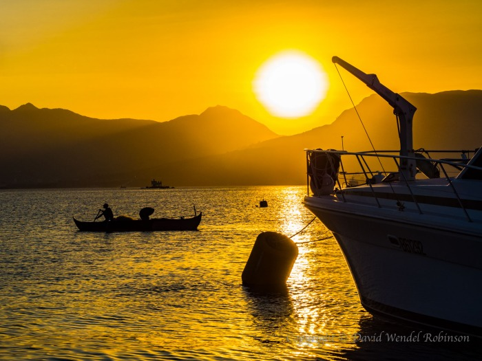 Taken while on a sunset bay cruise, Kho Samui Thailand.