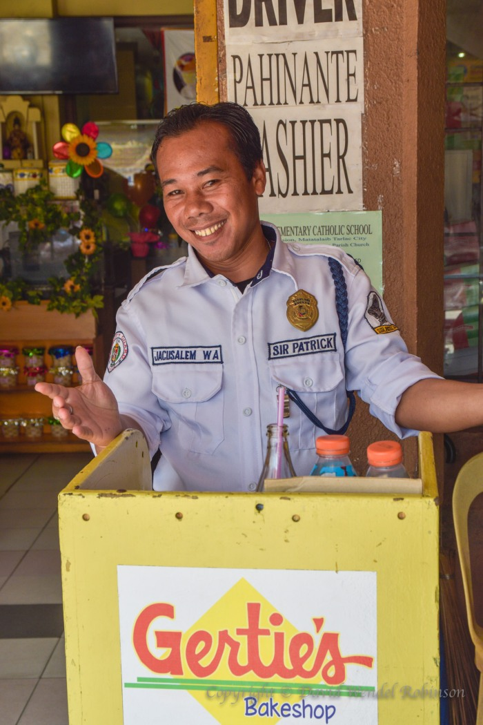 Security guard, tarlac, Philippines